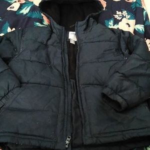 Old Navy puffer coat with hood 6/7